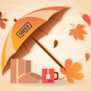5 avantaje ale utilizarii umbrelelor in campaniile promotionale de toamna