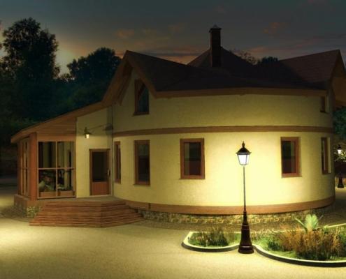 Cum sa construiesti o casa ieftina - CASA CIRCULARA